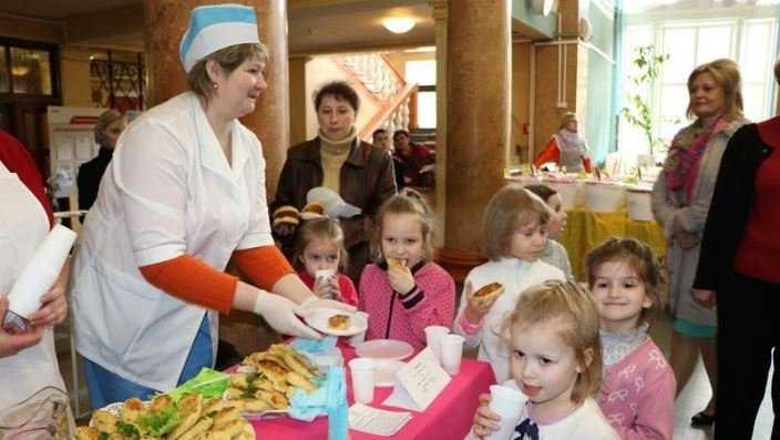В Брянске выбрали лучших детских поваров