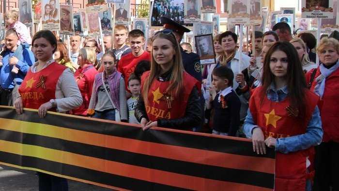 Марш Бессмертного полка в Брянске: Героям было по 19 лет