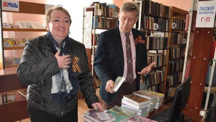 Брянская «Опора» подарила библиотекам еще 200 книг