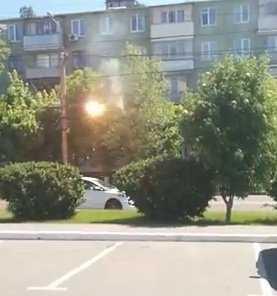 В Брянске загорелись провода троллейбусной сети