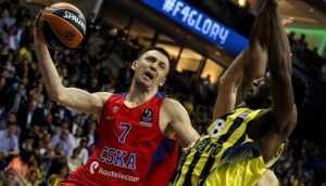 Брянский баскетболист Фридзон в составе ЦСКА впервые выиграл Евролигу