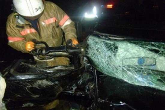 В ночной аварии на брянской трассе пострадали несколько человек