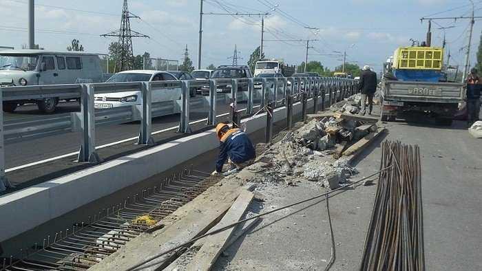 Подходы к путепроводу у вокзала Брянск-I завершат к 25 мая