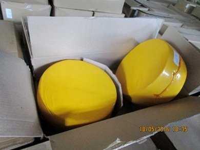 На брянском заводе утилизировали 20 тонн контрабандного сыра