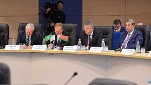 Брянский губернатор выступил в Белоруссии