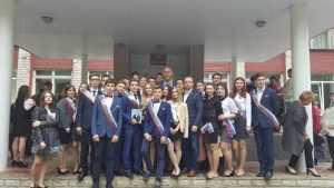 Валуев поздравил с последним звонком выпускников школы Брянска
