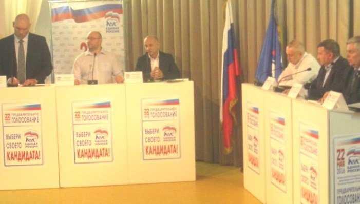 Николай Валуев побеждает на брянских предвыборах