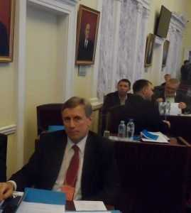 Виктор Гринкевич представил Брянск на съезде профсоюза военнослужащих