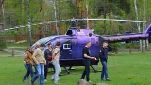 «Брянский лес» пригласил туристов на вертолётные экскурсии