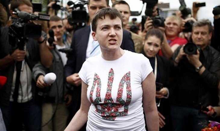 Возвращение садистки: Вы еще прозреете насчет Савченко