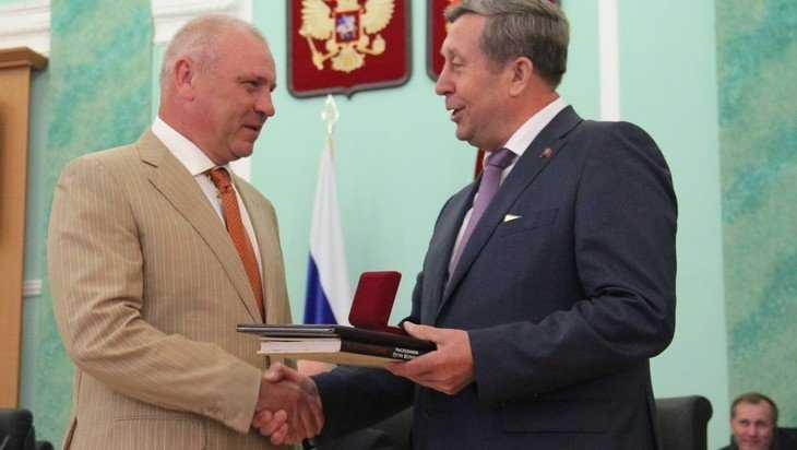 Гендиректора Брянского машзавода Александра Василенко наградили грамотой Госдумы