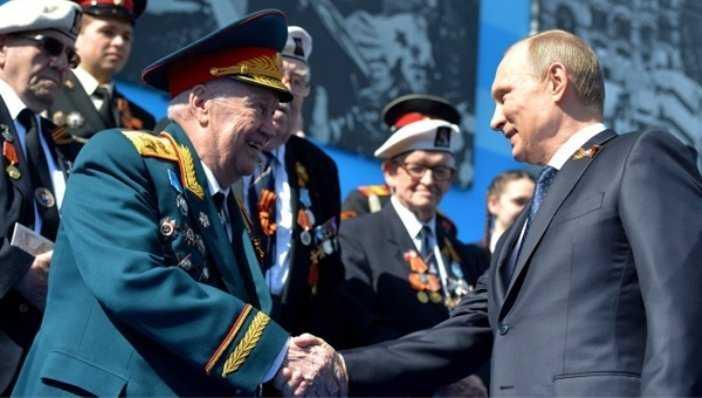 Президент Путин поздравит 156 брянских ветеранов войны