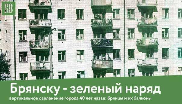 Как озеленяли Брянск