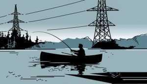 Энергетики предупредили брянцев об опасности удара током на воде