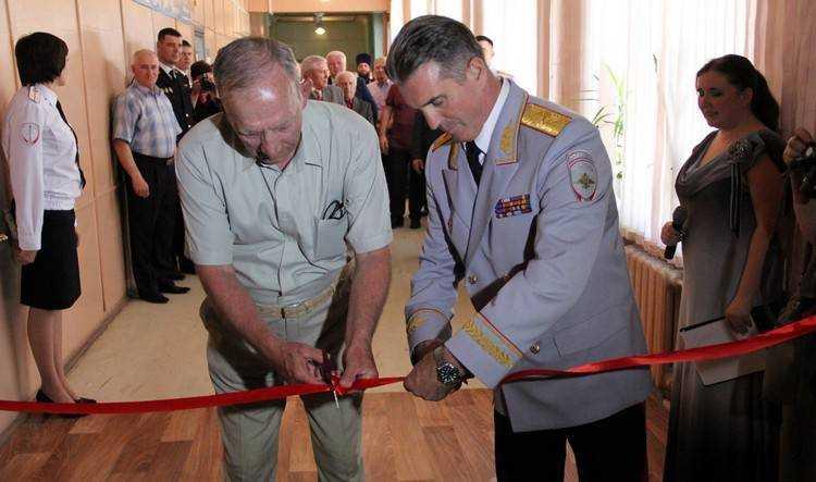 Брянские полицейские открыли в Дятькове музей