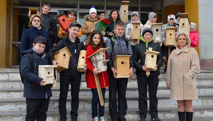 «Брянский лес» наградил малышей за домики для птиц