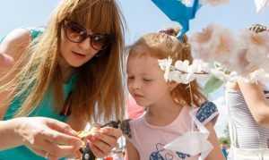 В Брянске «Атлас» с творческой фантазией провел «Самый детский день»