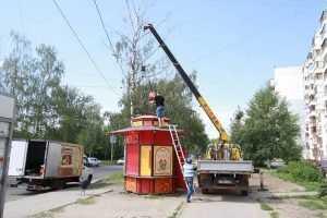 В Брянске снесут по решению суда 16 незаконных киосков