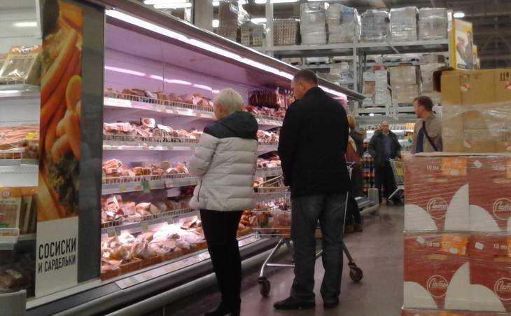 Брянский набор продуктов за месяц подорожал на 7 рублей