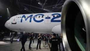 Россия представила новый пассажирский лайнер