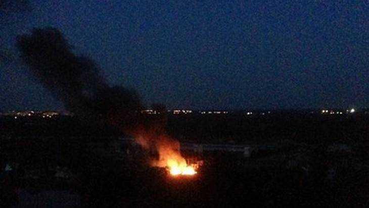 В Брянске взорвалась электрическая подстанция