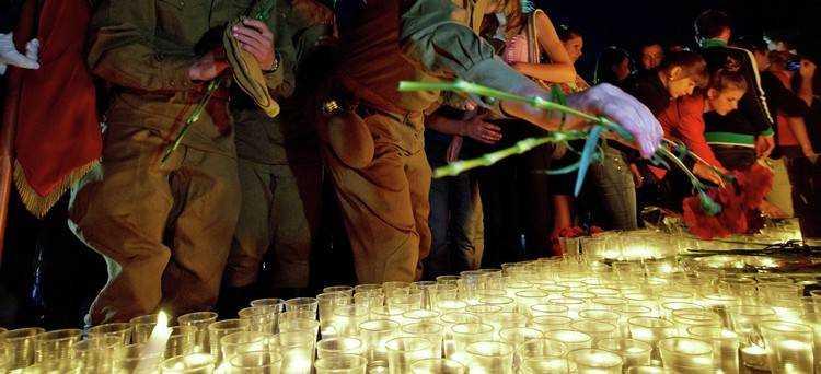 В Брянске зажгут «Свечи памяти»