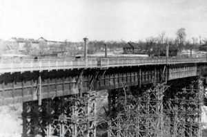 70 лет назад в Брянске открылся мост через Верхний Судок