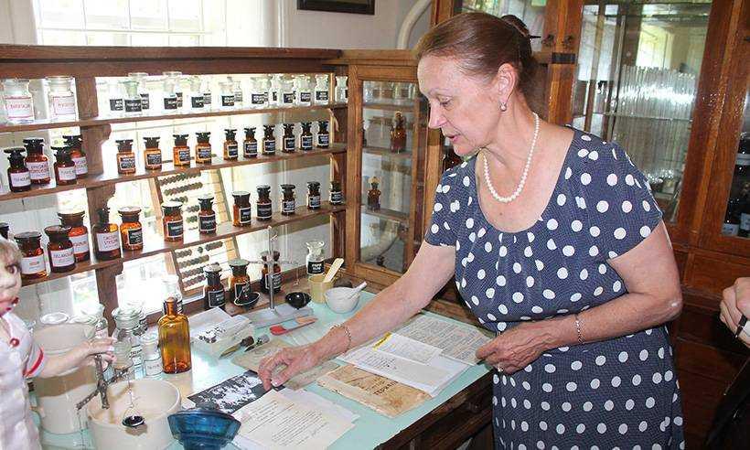 В Брянской области открылась первая аптека-музей