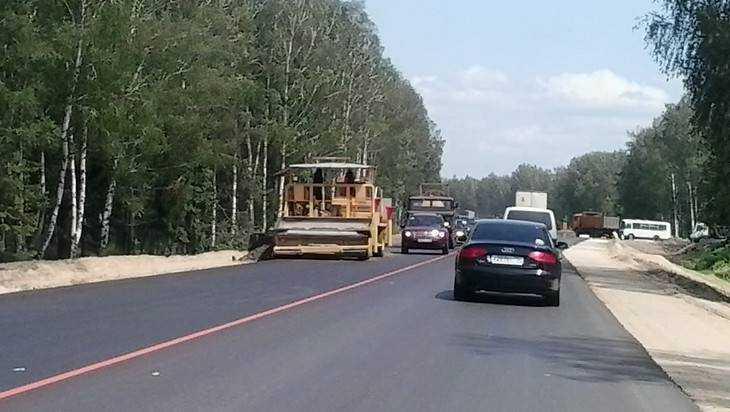 Дорожники выровняют трассу Брянск – Гомель
