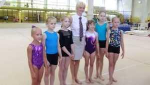 Олимпийская чемпионка Светлана Хоркина встретилась с брянскими гимнастами