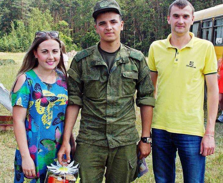 Клинчане поразили своей душевностью молодых солдат