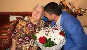 В Брянске бывшая партизанка отпраздновала столетие