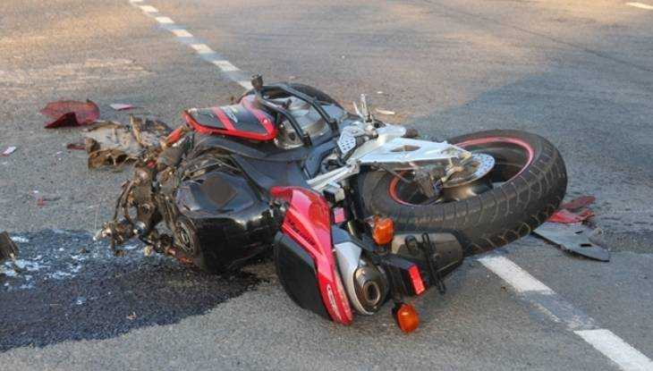 В Брянске разбилась женщина на мотоцикле