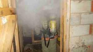 Почти час пожарные тушили брянскую пилораму
