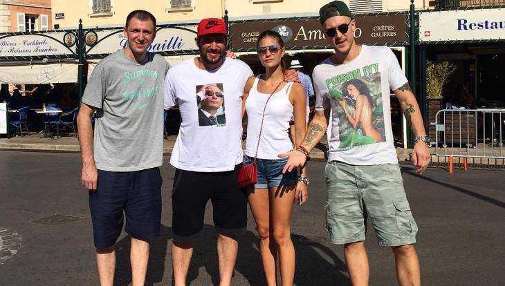 Брянский баскетболист отдохнул в компании Овечкина и Путина