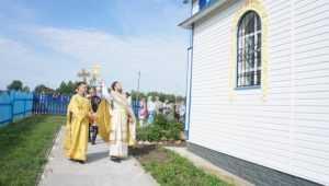 На Брянщине освятили храм во имя апостолов Петра и Павла