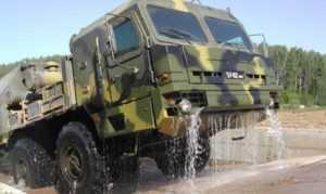 Брянский автозавод нарастил выпуск ракетовозов