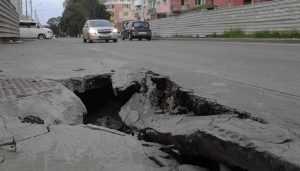 Брянск превратился в город разбитых тротуаров
