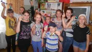 В день шоколада маленьким брянцам подарили сладкую вечеринку