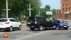 В ДТП возле брянской «Башни» пострадали двое детей