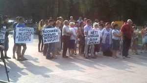 На митинге брянский депутат попросила защитить перевозчиков