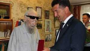 Брянского поэта Валентина Динабургского поздравили с 94-летием