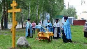 В брянском Отрадном построят деревянную церковь