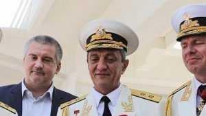 Губернатор Севастополя Сергей Меняйло ушел в Сибирь