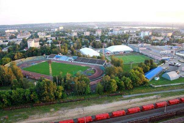 Брянский стадион «Десна» приведут к мировым стандартам
