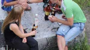 Брянские подростки, избившие полицейского за замечание, были пьяны