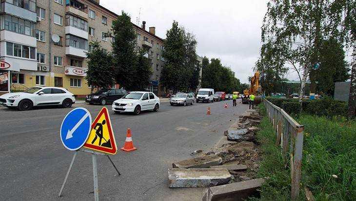 В Брянске начали строить кольцо около «Полтинника»