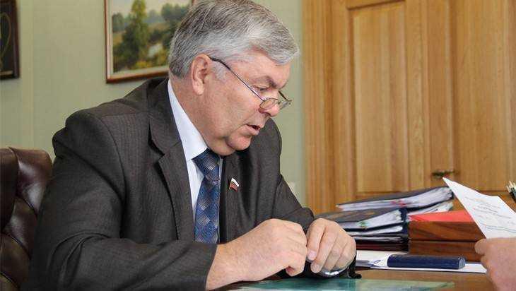 Уходящий брянский депутат Малашенко объявил собрание