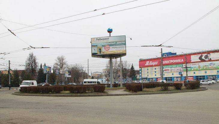 Началось строительство кольца в Брянске у «Полтинника»