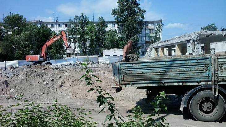 Брянский Дом культуры Гагарина обратили в прах